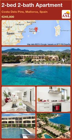 Apartment for Sale in Costa Dels Pins, Mallorca, Spain with 2 bedrooms, 2 bathrooms - A Spanish Life Apartments For Sale, Mallorca Beaches, Residential Complex, Private Garden, Murcia, Pent House, Terrace, Swimming Pools, Zaragoza