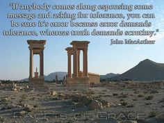 John MacArthur - What Truth Demands