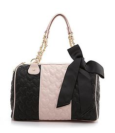 Betsey Johnson Be My One and Only Satchel  Available at Dillards