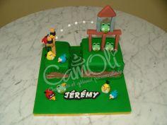 Gâteau classique Angry Birds classic cake