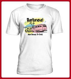RETIRED AND READY TO ROLL Tee Shirt - Shirts für freundin mit herz (*Partner-Link)