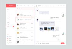 Web Message Interface designed by Masudur Rahman . Connect with them on Dribbble; Dashboard Design, App Ui Design, Interface Design, Flat Design, User Interface, Web Layout, Layout Design, Icon Design, Design Design