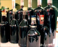 """homemade kahlua- We're going to try this recipe!! I think rather than bottle we will """"can"""" it in jars!"""