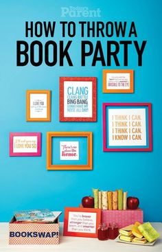 How to throw a book party