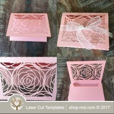 Product Laser cut wedding gift box template. @ shop-msl.com Wedding Gift Boxes, Wedding Gifts, Paper Box Template, Laser Cutting, Wedding Designs, Templates, Shop, Wedding Thank You Gifts, Models