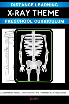 This X-ray Preschool packet is a wonderful way for your preschool or pre-k kids to work on basic literacy and math and fine motor skills. These no-prep printables are great for distance learning or in class centers and stations. Preschool Curriculum, Preschool Printables, Preschool Worksheets, Preschool Learning, Printable Worksheets, Preschool Activities, Teaching, Everything Preschool, Toddler Age