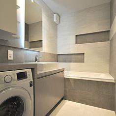 Koupelny - fotogalerie a inspirace | Favi.cz Home And Living, Washing Machine, Home Appliances, House Design, Design Ideas, Home Decor, Small Bathrooms, Bathroom, House Appliances
