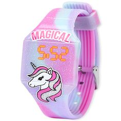 Princess Dress Up, Apple Watch Accessories, 11th Birthday, Magical Unicorn, Big Fashion, Children's Place, Digital Watch, Tie Dye, Glitter