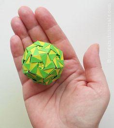 Oleo Kusudama Tutorial – Origami Tutorials