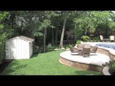 Inground Pools On Sloped Yard 5 Ways To Build Pool Pinterest Yards Backyard And
