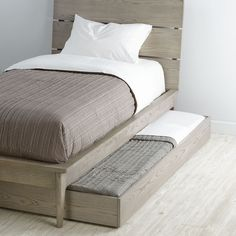 Our Wrightwood Trundle Bed features a stunning greywash finish, perfectly matching your kids bedroom decor. Shop for kids furniture at Land of Nod. Furniture, Bed Design, Home, Bedroom Furniture, Bed, Small Bedroom, Bed Plans, Bed Frame, Murphy Bed Plans