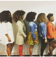 @curlyproverbz    Texture galore. textured hair. different textures and lengths, all equally beautiful. afro curls. curly afro. kinky curls. natural hair. afro hair. curly hair variety.