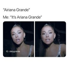 Ariana Grande Meme, Ariana Grande Pictures, Grandes Photos, Dangerous Woman Tour, Ariana Grande Wallpaper, She Song, Look At You, Funny Relatable Memes, Reaction Pictures