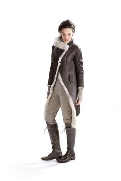 Revesable leather coat £1899.00 Only one left!