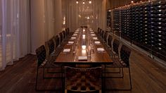 Andaz West Hollywood Wine Gallery