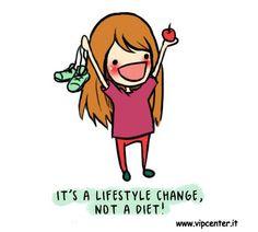 è una questione di stile alimentare...non di dieta!