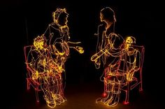 Light Paintings by Brian Matthew Hart // (I consider these drawings)