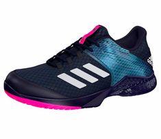 new york c60bd 7a6f1 Juniors` Adizero Club 2 Tennis Shoes Legend Ink and White