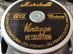 Marshall Speaker Celestion Vintage 30 T3897 G12V 70w 16ohm - Guitar  Amplifiers - Guitar Amplifiers ideas 78fcb8b969dab