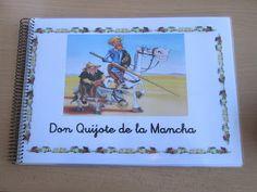 Recursos para Docentes: Don Quijote de la Mancha (cuadernillo) Libra, Numero Anterior Y Posterior, Frame, Scripture Cards, Read And Write, Don Quixote, Preschool, Notebooks, Picture Frame