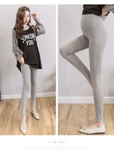 The pregnant women leggings autumn wear knitting cotton abdominal support ankle-length pants is so casual and loose you may like it. #maternityskirt #maternitybuttom #maternityskirtoutfits #skirt #maternitybottom #maternitybottomwear #maternitypants #maternitypantsforwork #maternitypantsextender #maternitypantsplussize Maternity Skirt, Soft Pants, Ankle Length Pants, Women's Leggings, Plus Size, Autumn, Knitting, Womens Fashion, Casual