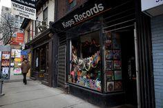 A must if you love vinyl! Vinyl Record Store, Vinyl Records, Toronto Photos, Photo Essay, Places, Vintage, Musica, Primitive, Lugares