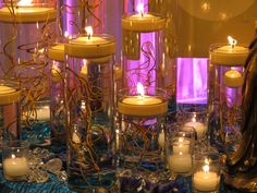 love it! candles = super romantic and much better lighting for a wedding.