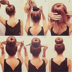 Tuto coupe de cheveux femme - Tuto de coiffure pour cheveux longs - Tutoriels de coiffure