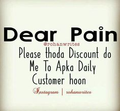 Thoda discount to de do Yaar 😞 Crazy Quotes, True Love Quotes, Amazing Quotes, True Quotes, Desi Quotes, Hindi Quotes, Quotations, Famous Friendship Quotes, Being Ignored Quotes