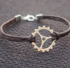 Gearwheel Bracelet for men father