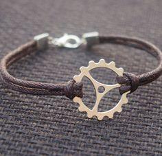 Gearwheel Bracelet for men father