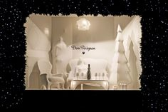 Dom Perignon Christmas 2011 Windows at Selfridges by Elemental Deisgn.