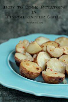 Tinfoil Potatoes Pac
