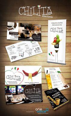 Chilita Pizza e Pasta - promotional materials