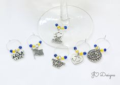Military Wine Charms, Navy Wine Charms, Navy Mom Gift, Navy Wife Gift, Military Gifts, Wine Lover Gift, Wine Charms, Deployment Gift by JOcustomdesigns on Etsy https://www.etsy.com/listing/536832117/military-wine-charms-navy-wine-charms