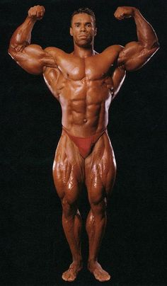 1994 - Kevin Levrone, USA (16 July 1965), height 5-foot-11 (180 cm)