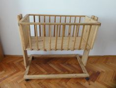 Cradle from pallet wood Recycled Furniture Recycled Pallets