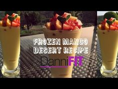 How to Make a Healthy Frozen Mango Desert Learn with Danni Levy, the way of making a healthy frozen mango desert. Frozen Mango Dessert…Sugar-Free and Delicious!