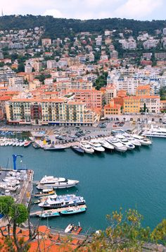 FRANCE.... NICE. Cityscape - was probably founded around 350 BC by the Greeks of Massilia