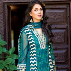 Amna Ismail Chiffon Couture Eid Dresses 2016 By GSTM