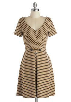 A Latte to Love Dress, #ModCloth