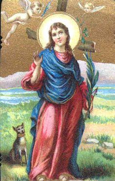 Santos, Beatos, Veneráveis e Servos de Deus: SANTA CRISTINA DE BOLSENA, Virgem e Mártir (perseg...