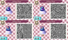 animal crossing qr codes galaxy - Google Search