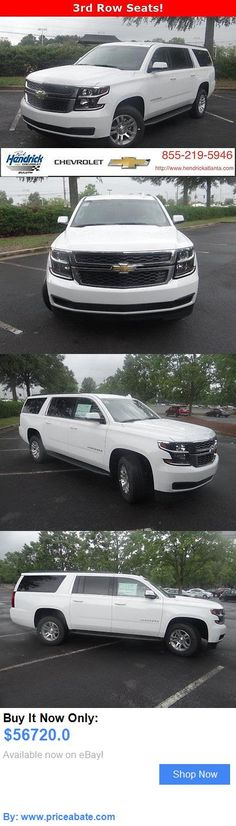 SUVs: Chevrolet: Suburban 2Wd 4Dr 1500 Lt 2 Wd 4 Dr 1500 Lt New Suv Automatic Summit White BUY IT NOW ONLY: $56720.0 #priceabateSUVs OR #priceabate