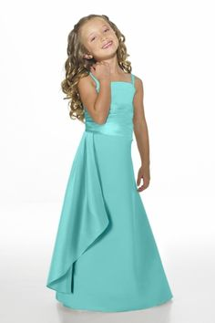 Junior Bridesmaid Dresses, Flower Girl, Special Occasion Dresses by Alexia Designs in Tiffany