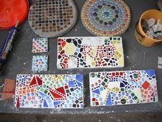 Free Patterns Mosaic Stepping Stones   Thomasin Durgin: The Ring Blog: September 2010