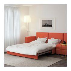 VALLENTUNA Canapea mod. 4l+pat. - Orrsta portocaliu - IKEA