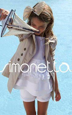 Il sito Simonetta Abbigliamento bambini firmato dall'Agenzia Map www.simonetta.it/