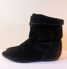 In the early 80s everyone wore black pixie boots. I called them Peter Pan getaway shoes!