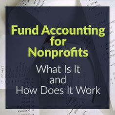 One benefit of fund accounting is that nonprofit organizations can easily see how donors' funds are being spent. See other benefits of Fund Accounting Charity Fund, Charity Gifts, Charity Event, Nonprofit Fundraising, Fundraising Events, Fundraising Ideas, Speech Therapy Activities, Play Therapy, Fund Accounting